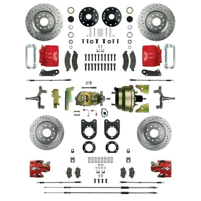 Right Stuff Power Four Wheel Siganture Disc Conversion AFXDC51DZ
