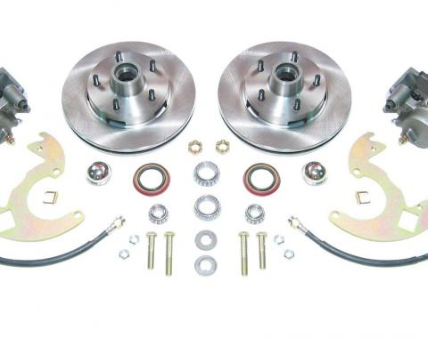 Right Stuff EZ Fit Manual Front Disc Brake Conversion Kit with Standard Rotors for 64-72 A-Body, 67-69 F-Body and 68-74 Nova. AFXSD14