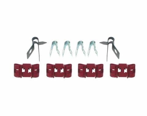 Right Stuff 67 - 68 Brake Clip Set; 10 Pcs. FCS001
