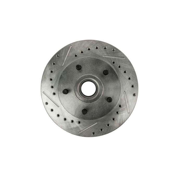 Right Stuff Front; Drilled/Slotted/Zinc - pr BR08ZDC