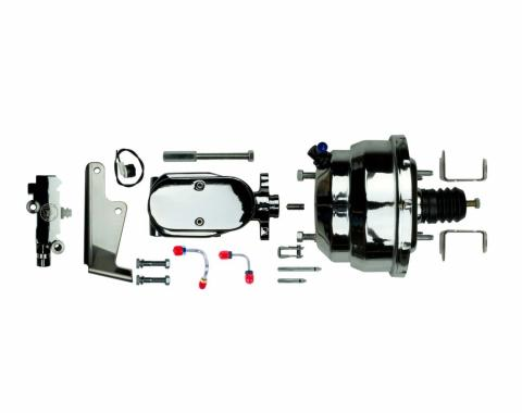 "Right Stuff Upper Assembly with Chrome Booster, 1"" Bore, Valve and Brackets J81315672"