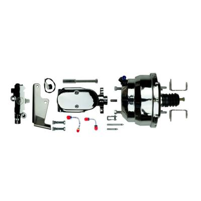 """Right Stuff Upper Assembly with Chrome Booster, 1.125"""" Bore, Valve and Lines J81315171"""