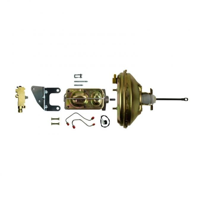 """Right Stuff Upper Assembly with Gold Booster, 1.125"""" Bore, Valve, Brackets and Lines G10060171"""