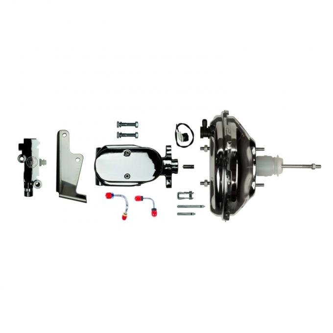 """Right Stuff Upper Assembly with Chrome Booster, 1"""" Bore and Valve J10035672"""