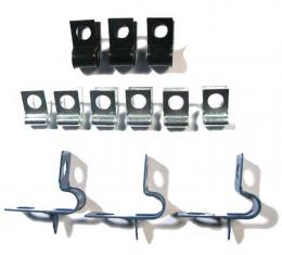 Right Stuff 69 Brake Clip Set; 12 Pcs. FCS002