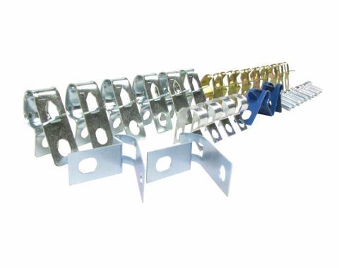 Right Stuff 75 - 81 Brake Fuel Clip Set; 32 Pcs. FCS014