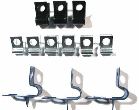 Right Stuff 69 Brake Clip Set; 12 Pcs. FCS002