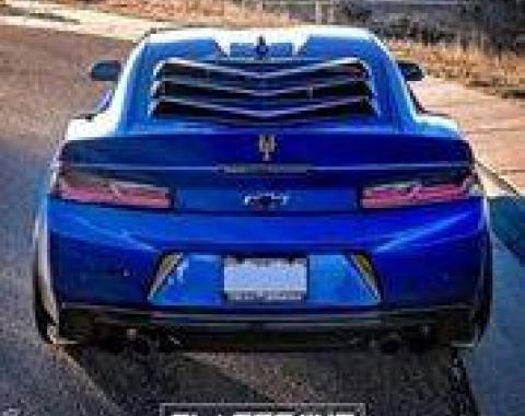 GlassSkinz 2016-20 Camaro Bakkdraft Rear Window Valance / Louver CAM6BAKKDRAFT
