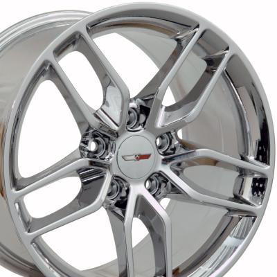 PVD Chrome Wheel fits Corvette (Stingray style) 18x8.5