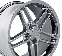 Chrome Rims fit Chevrolet Corvette (C6 Z06 style) 17x9.5