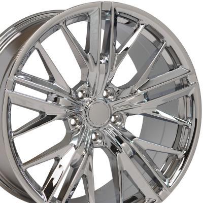 Chrome Wheel fits Chevrolet Camaro (ZL1 Style) - 20x8.5