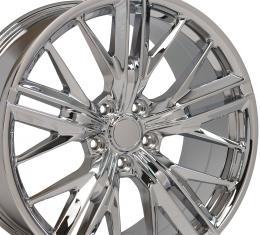Chrome Wheel fits Chevrolet Camaro (ZL1 Style) - 20x9.5