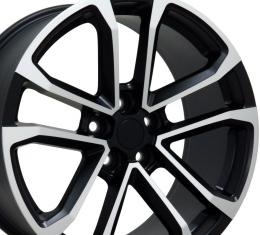"20"" Fits Chevrolet - Camaro ZL1 Wheel - Matte Black Mach'd Face 20x9.5"