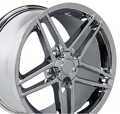 Chrome Rims fit Chevrolet Corvette (C6 Z06 style) 17x9.5