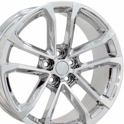 "20"" Fits Chevrolet - Camaro ZL1 Wheel - PVD Chrome 20x9.5"