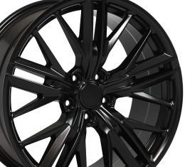 Satin Black Wheel fits Chevrolet Camaro (ZL1 Style) - 20x8.5
