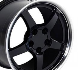 "18"" Fits Chevrolet - Corvette C5 Wheel - Black 18x9.5"