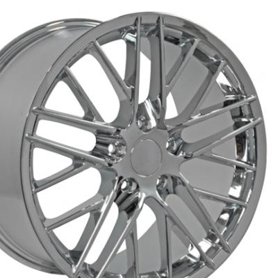 "18"" Fits Chevrolet - Corvette C6 ZR1 Wheel - Chrome 18x8.5"