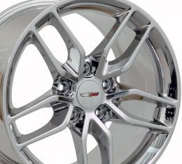 PVD Chrome Wheel fits Corvette (Stingray style) 18x10.5