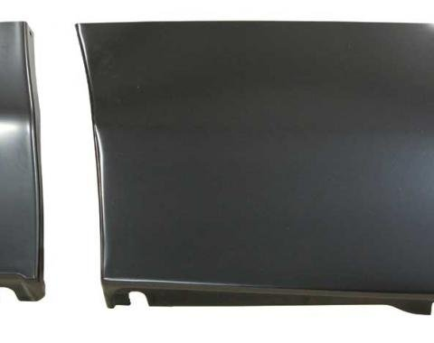 AMD Front Fender Lower Rear Repair Panel w/ Brace, LH 205-3569-L