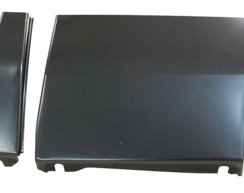 AMD Front Fender Lower Rear Repair Panel w/ Brace, RH 205-3569-R