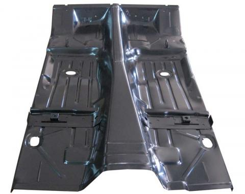 AMD Floor Pan, OE Style w/ Braces (Includes Convertible Plates) 400-3567