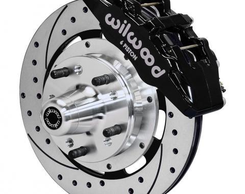 Wilwood Brakes Forged Dynapro 6 Big Brake Front Brake Kit (Hub) 140-12836-D