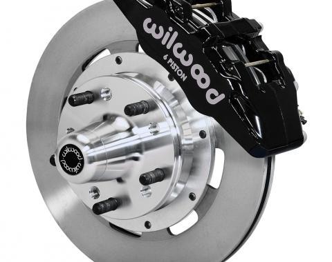 Wilwood Brakes Forged Dynapro 6 Big Brake Front Brake Kit (Hub) 140-12836