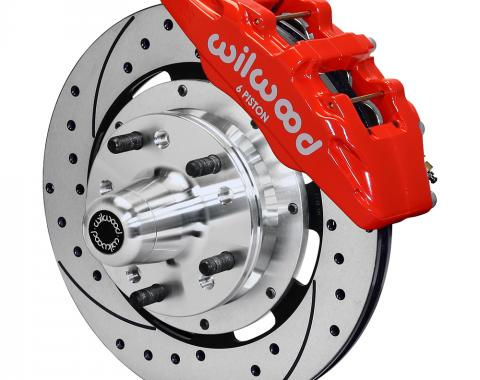 Wilwood Brakes Forged Dynapro 6 Big Brake Front Brake Kit (Hub) 140-12836-DR