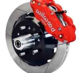 Wilwood Brakes Forged Narrow Superlite 6R Big Brake Front Brake Kit (Hub) 140-10493-R