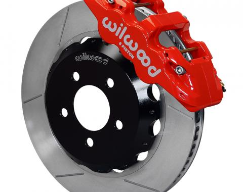 Wilwood Brakes 2016-2017 Chevrolet Camaro AERO6 Big Brake Front Brake Kit 140-14289-R