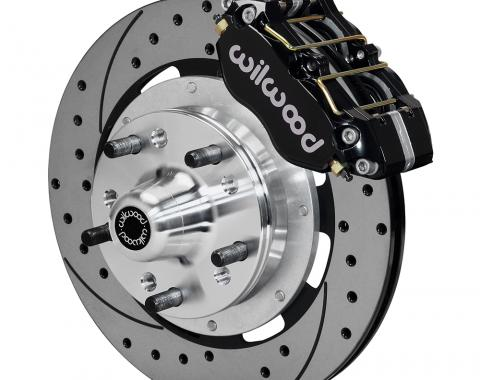 Wilwood Brakes Dynapro Dust-Boot Big Brake Front Brake Kit (Hub) 140-13203-D