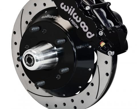 Wilwood Brakes Forged Narrow Superlite 6R Big Brake Front Brake Kit (Hub) 140-15279-D