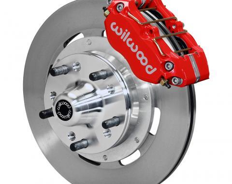Wilwood Brakes Dynapro Dust-Boot Big Brake Front Brake Kit (Hub) 140-13203-R