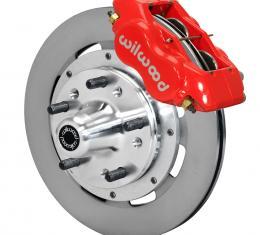 Wilwood Brakes Forged Dynalite Big Brake Front Brake Kit (Hub) 140-11275-R