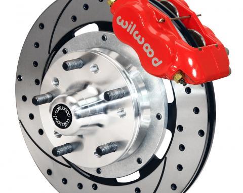 Wilwood Brakes Forged Dynalite Big Brake Front Brake Kit (Hub) 140-11275-DR