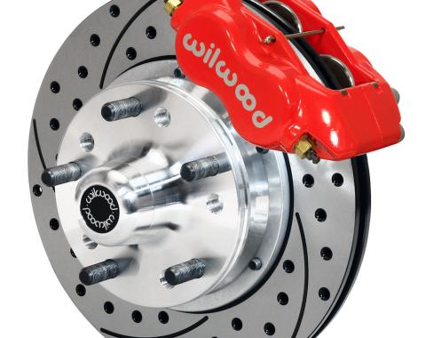Wilwood Brakes Forged Dynalite Pro Series Front Brake Kit 140-11012-DR