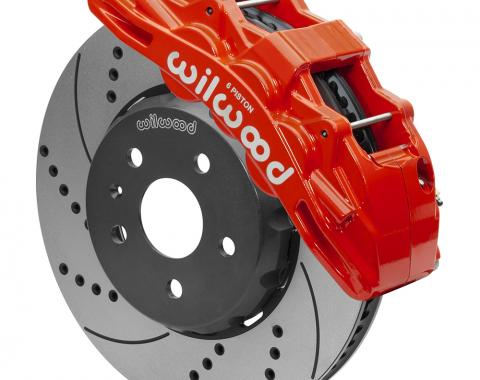 Wilwood Brakes 2010-2015 Chevrolet Camaro SX6R Big Brake Dynamic Front Brake Kit 140-15425-DR