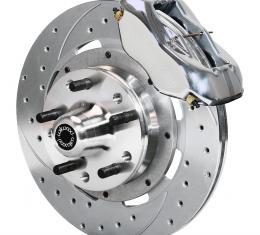 Wilwood Brakes Forged Dynalite Big Brake Front Brake Kit (Hub) 140-7675-ZP