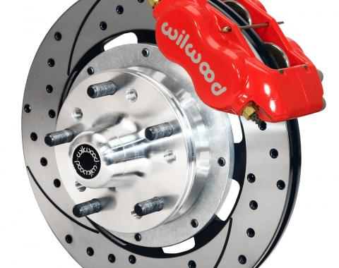 Wilwood Brakes Forged Dynalite Big Brake Front Brake Kit (Hub) 140-8582-DR