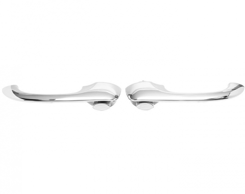 Trim Parts 67-69 Camaro Door Handles, Outside, Pair 6735
