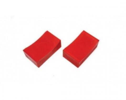 Jack Stand Pads, 2-1/2 x 4-1/2, Polyurethane, Prothane
