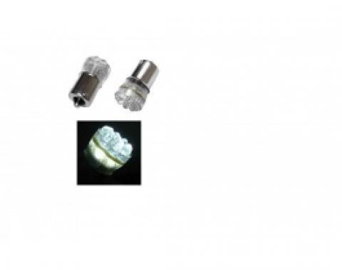 Light Bulbs, 1157, (15) Miniature LEDs Hyper White