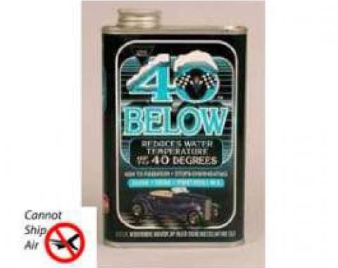 Radiator Coolant Additive, 40 Below, Pro Blend