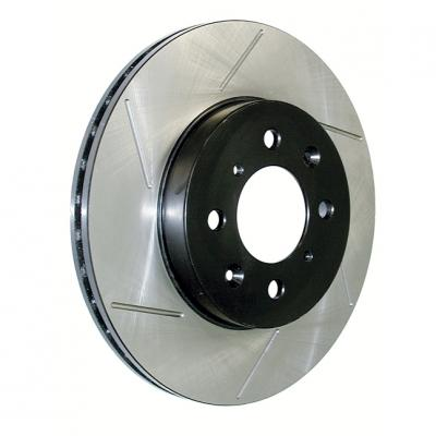 Stop Tech / Power Slot 126.62013SR, Brake Rotor, SportStop (R) Slotted, Silver E-Coated, Alloy, Single