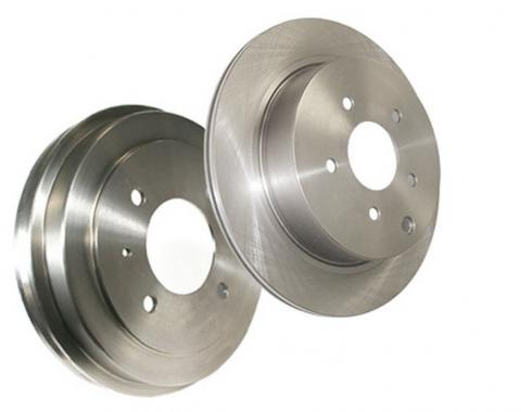 Stop Tech / Power Slot 22862065DL, Brake Rotor, C-Tek Drilled, Silver E-Coated Double Ground, Alloy, Single