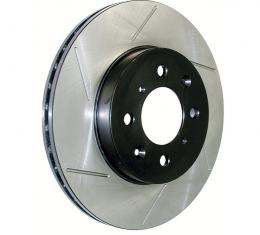 Stop Tech / Power Slot 126.62065SL, Brake Rotor, SportStop (R) Slotted, Silver E-Coated, Alloy, Single