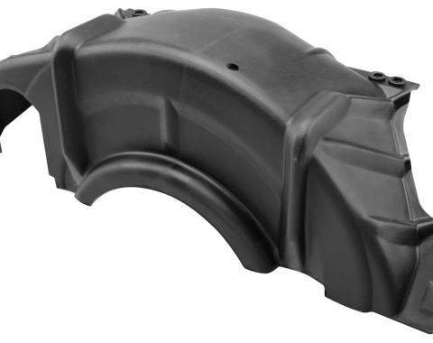 Pontiac V8 Automatic Transmission Torque Converter Flywheel Dust Cover, Plastic, 1965-1979