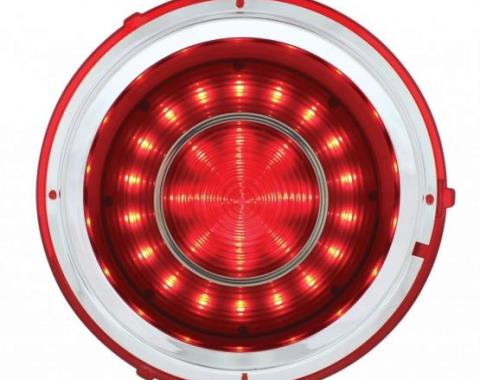 United Pacific 40 LED Red Tail Light For 1967 Chevy Camaro Standard