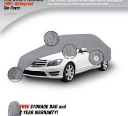 CHEVROLET CAMARO Elite Premium Waterproof Car Cover, Gray, 1993-2002
